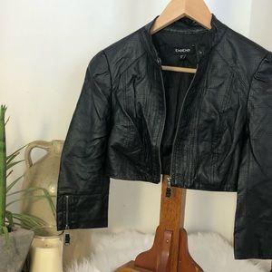Bebe cropped jacket